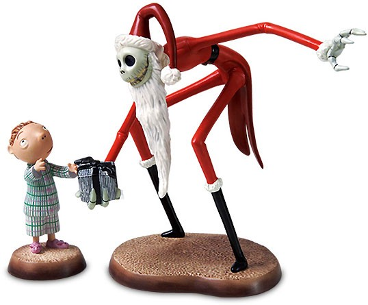 WDCC Disney ClassicsThe Nightmare Before Christmas Santa Jack And Timmy A Ghoulish Gift