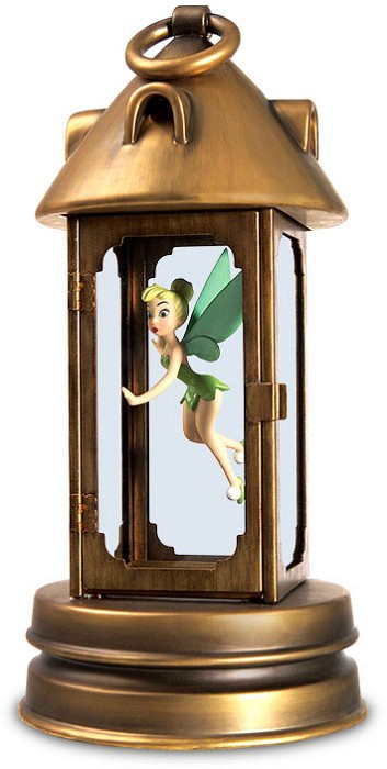 WDCC Disney Classics Peter Pan Tinker Bell In Lantern Pixie In Peril
