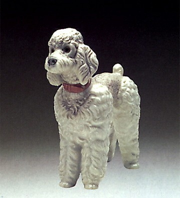 Lladro Woolly Dog 1974-85 Porcelain Figurine