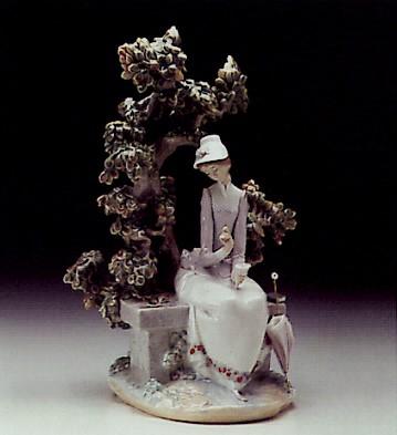 LladroReminiscing 1974-88Porcelain Figurine