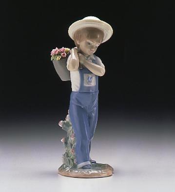 LladroFlower Harvest 1974-98Porcelain Figurine