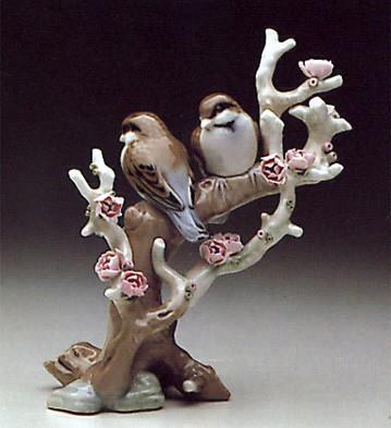LladroBirds Resting 1974-85Porcelain Figurine