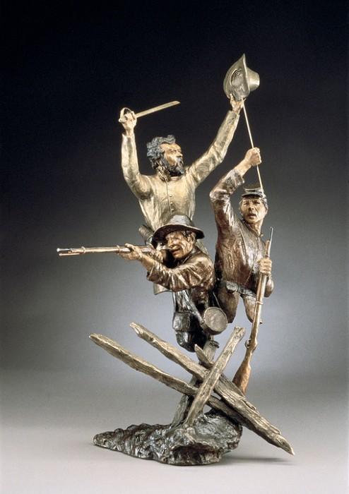 Mark HopkinsSteady Boys!Bronze Sculpture