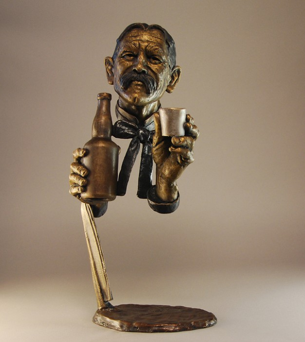 Mark HopkinsOn the HouseBronze Sculpture