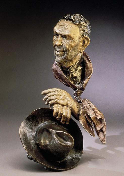 Mark HopkinsDay's WorkBronze Sculpture