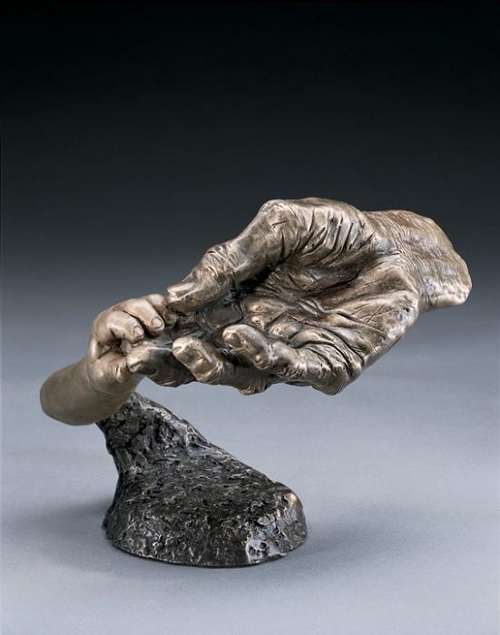 Mark HopkinsWhat the Future HoldsBronze Sculpture