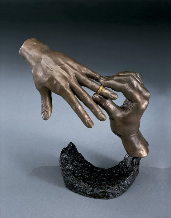Mark Hopkins Forever Bronze Sculpture