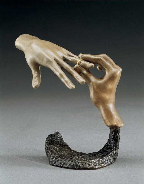 Mark HopkinsForever (small)Bronze Sculpture