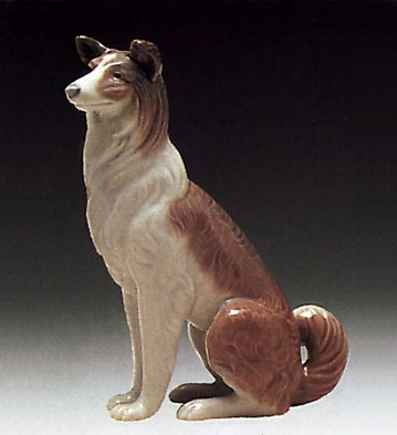 LladroCollie 1974-81Porcelain Figurine