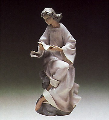 Lladro Angel With Score 1976-85