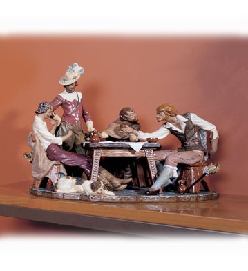 LladroPlaying Cards (numbered Series) 1976-CPorcelain Figurine