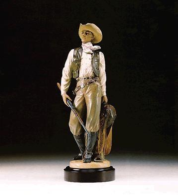 LladroAmerican Cowboy 1994-98Porcelain Figurine