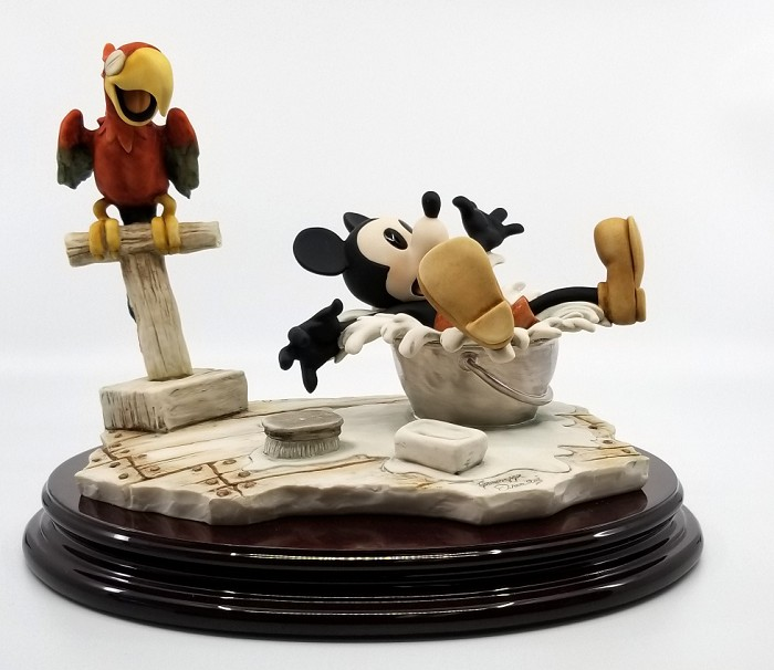 Giuseppe Armani Steamboat Willie Hand Signed Artist Proof Color Finish