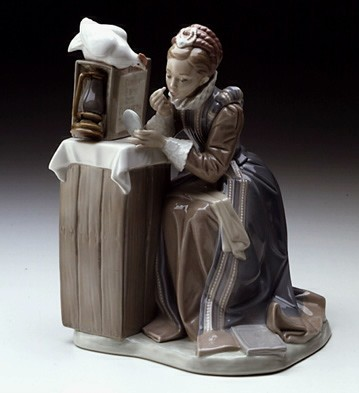 Lladro Summer Stock - Rockwell 82 Le5000 Porcelain Figurine