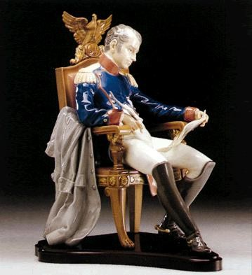 Lladro Napoleon Planning The Battle Le 1500 1985-95 Porcelain Figurine