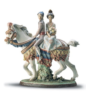 Lladro Valencian Couple Le3000 1985-2001