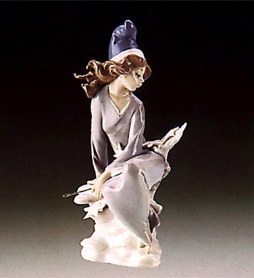 Lladro Star Gazing 1985-88 Porcelain Figurine