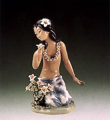 LladroIn A Tropical Garden 1985-95Porcelain Figurine