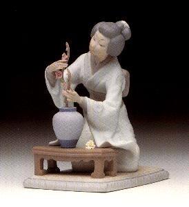 LladroOriental Girl 1973-97Porcelain Figurine