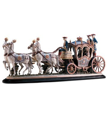 Lladro 18th Century Coach