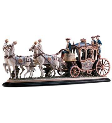 Lladro18th Century Coach
