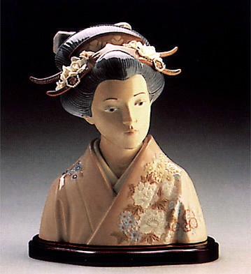 Lladro Lady Of The East 1986-93