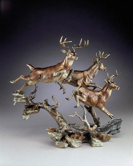 Mark HopkinsElusiveBronze Sculpture