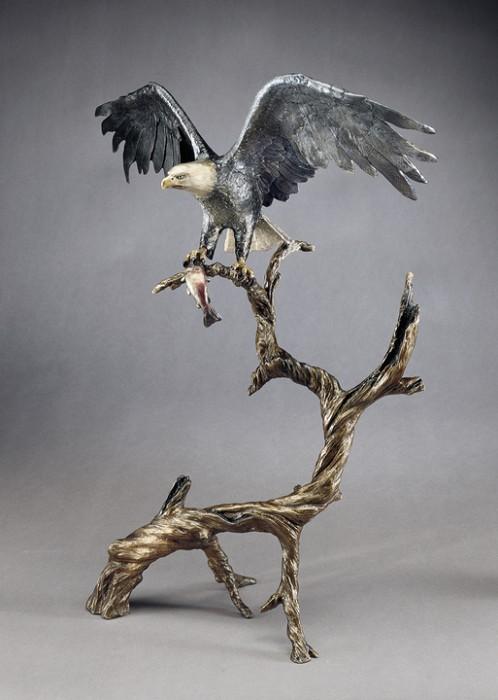 Mark HopkinsHigh PointBronze Sculpture