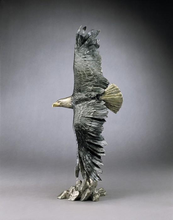 Mark HopkinsVigilanceBronze Sculpture
