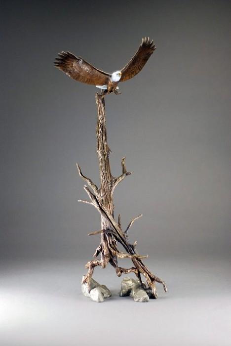 Mark HopkinsOpen SkyBronze Sculpture