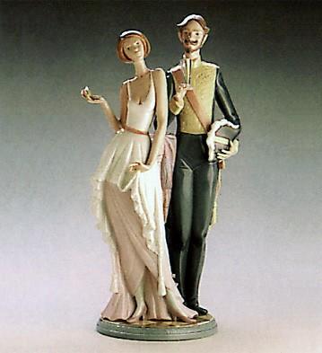 LladroThe Reception 1986-89Porcelain Figurine