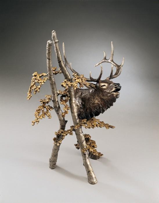 Mark HopkinsThe CallBronze Sculpture