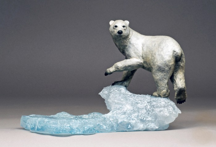 Mark Hopkins Arctic Spirit Bronze Sculpture