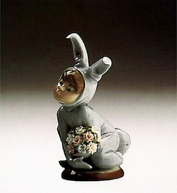 Lladro In The Meadow 1986-91 Porcelain Figurine