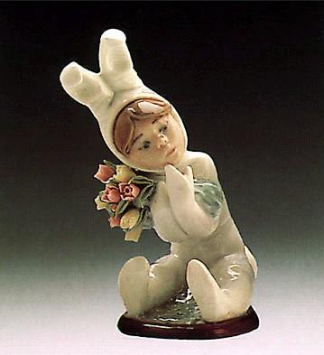 LladroSpring Flowers 1986-91Porcelain Figurine