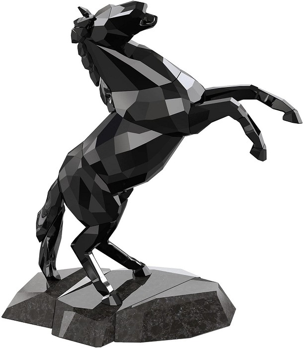 Swarovski Crystal Stallion Black