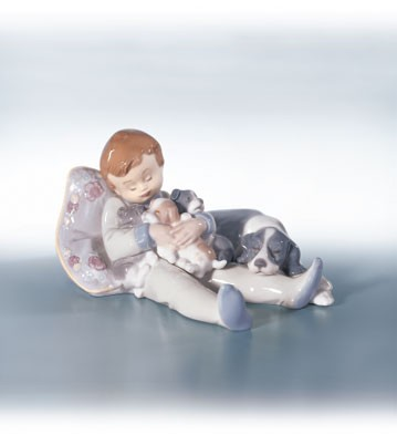 Retired Lladro Sweet Dreams