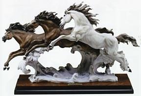 Giuseppe ArmaniBorn Free 3 Horses