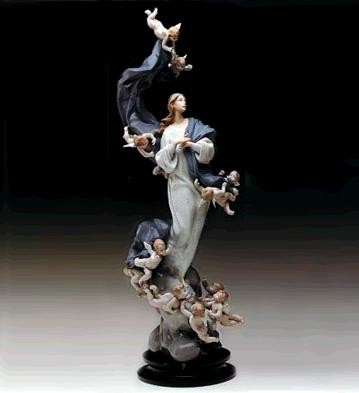 LladroBlessed Lady Le1000 1988-91Porcelain Figurine
