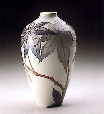 LladroVase Ricinus Palm 1988-93