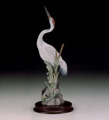 LladroDancing Crane 1989-98Porcelain Figurine