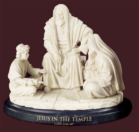 Master Peace Collection Jesus In The Temple