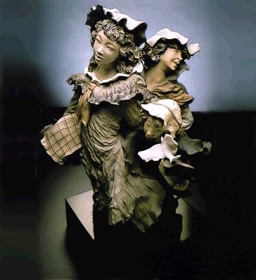 Lladro Goyescas On Our Way Home 1988-93