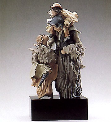 Lladro Goyescas Group Discussion 1989-93