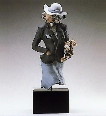 LladroDog PoseGoyesca Porcelain Figurine