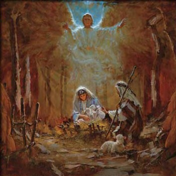 Brian JekelThe Nativity Unframed Canvas (stretched)