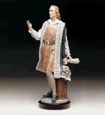 Lladro Columbus, Two Routes Le1000 1991-95