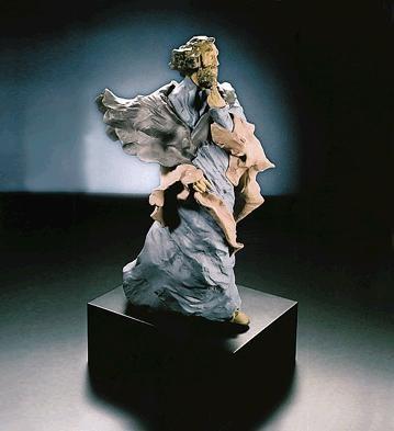 LladroThe ProfitGoyesca Porcelain Figurine