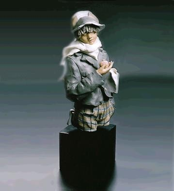 Lladro APPLE SELLER