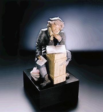 LladroThe StudentPorcelain Figurine